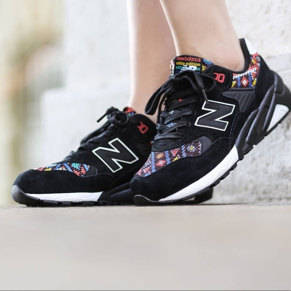 New balance 580 elite edition pinball suede shoes.
